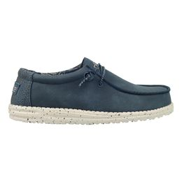 HeyDude recycled leather navy