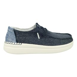 HeyDude Wendy Rise chambray blue